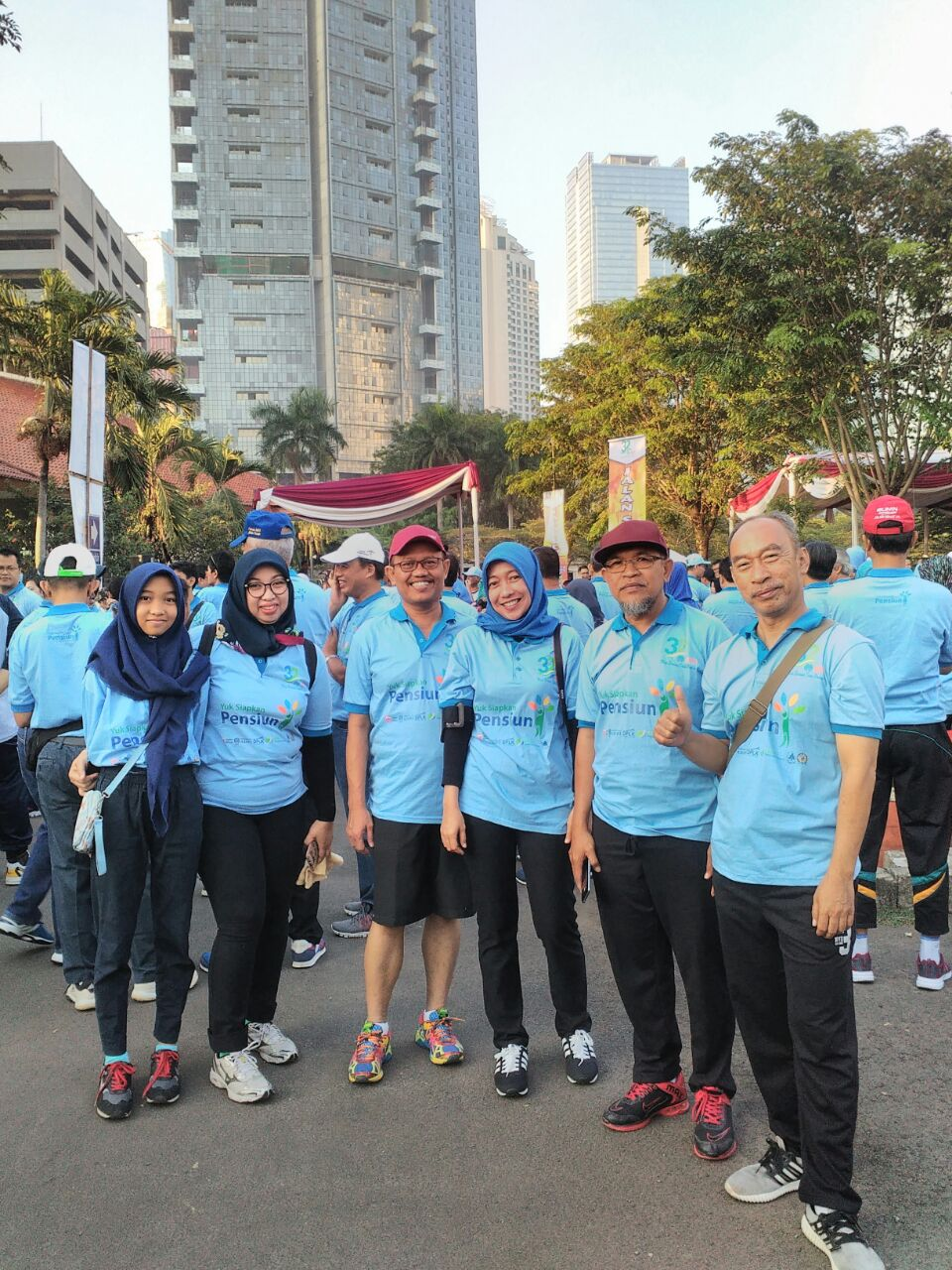 Jalan Sehat Ulang Tahun ke 32 Perkumpulan ADPI